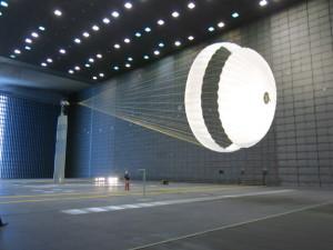 Schiaparellis Fallschirm im Test
