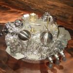 Modell des Landers Schiaparelli