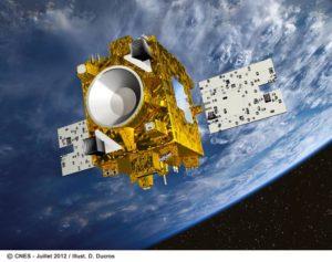 Darstellung des MICROSCOPE Satelliten