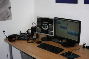 Das Auf Distanz-Studio
