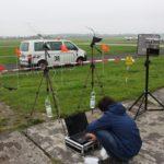 """CanSat Deutschland 2017: Empfangsaufbau des Teams """"Snoopy Explorer Halle"""""""