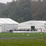 CanSat Deutschland 2017: Blick zum Hangar
