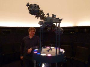 Andreas Vogel im Planetarium Bremen